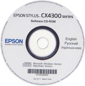 драйвер Epson CX4300