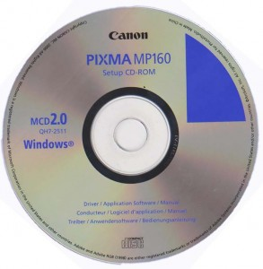 Драйвер Canon MP160
