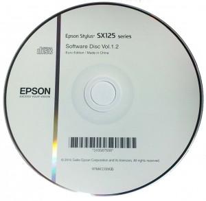 Установочный диск Epson Stylus sx125