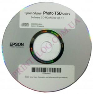 Установочный диск EPSON Stylus Photo T50