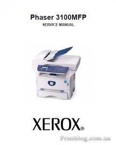 Service manual Xerox Phaser 3100MFP