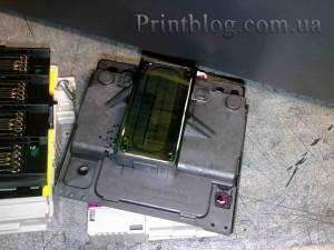 Как снять печатающую головку с Epson SX420,SX425,SX430_1