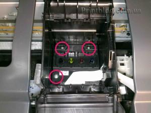 Как снять печатающую головку с Epson SX420,SX425,SX430_13