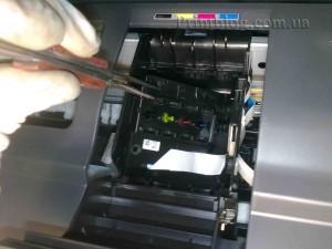 Как снять печатающую головку с Epson SX420,SX425,SX430_14