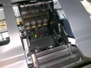Как снять печатающую головку с Epson SX420,SX425,SX430_3