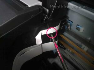 Как снять печатающую головку с Epson SX420,SX425,SX430_9