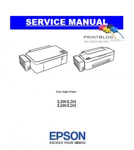 Service manual EpsonL100_L200