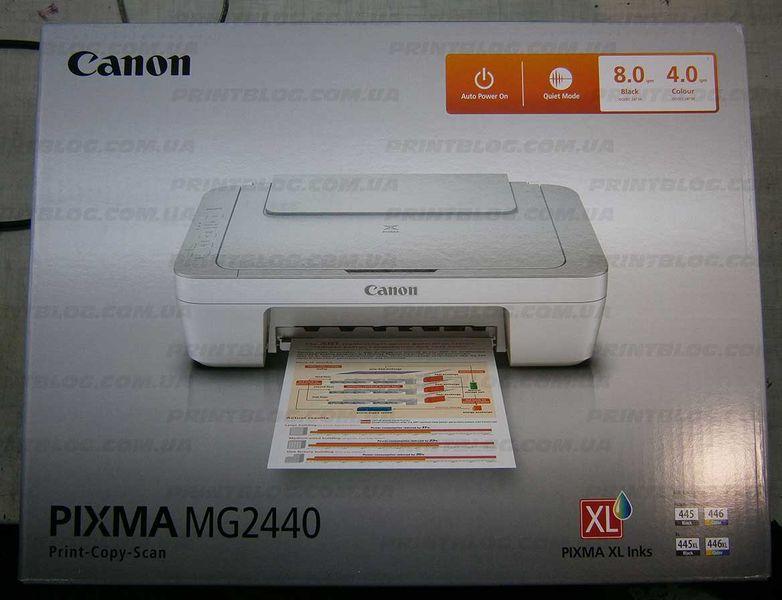 Обзор Canon Pixma MG2440