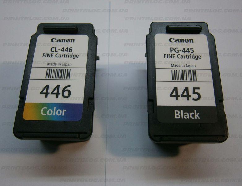 Инструкция по заправке PG-445 и CL-446
