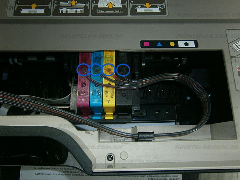 Установка СНПЧ HP Deskjet Ink Advantage 3525