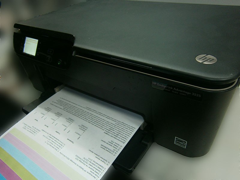 Установка СНПЧ на МФУ HP Deskjet Ink Advantage 3525
