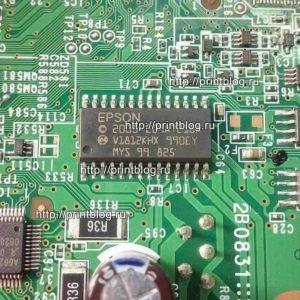 Микросхема шифратор E09A7218A для Epson R290, T50, P50, L800 (драйвер печатающей головки принтера Epson)