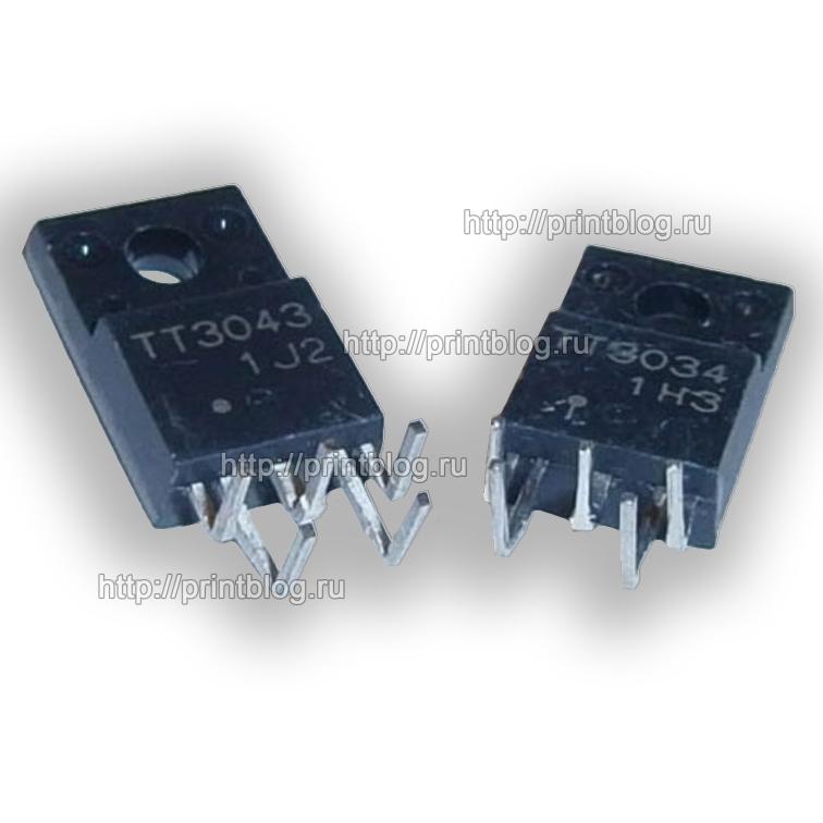 Транзисторная пара TT3034, TT3043 для Epson R290, T50, P50, L800, L805 и др.