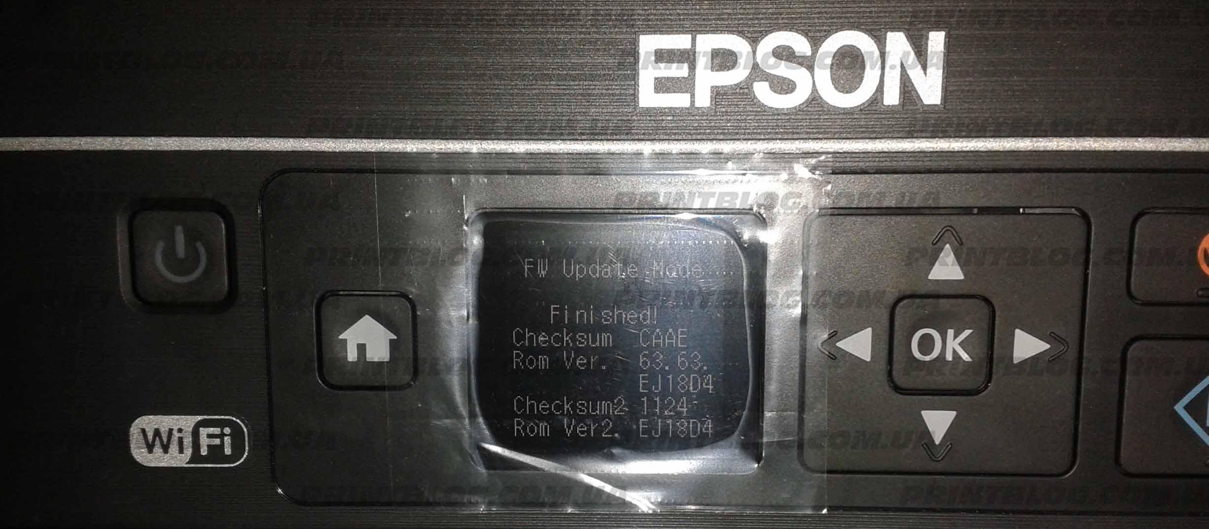 Прошивка принтера Epson