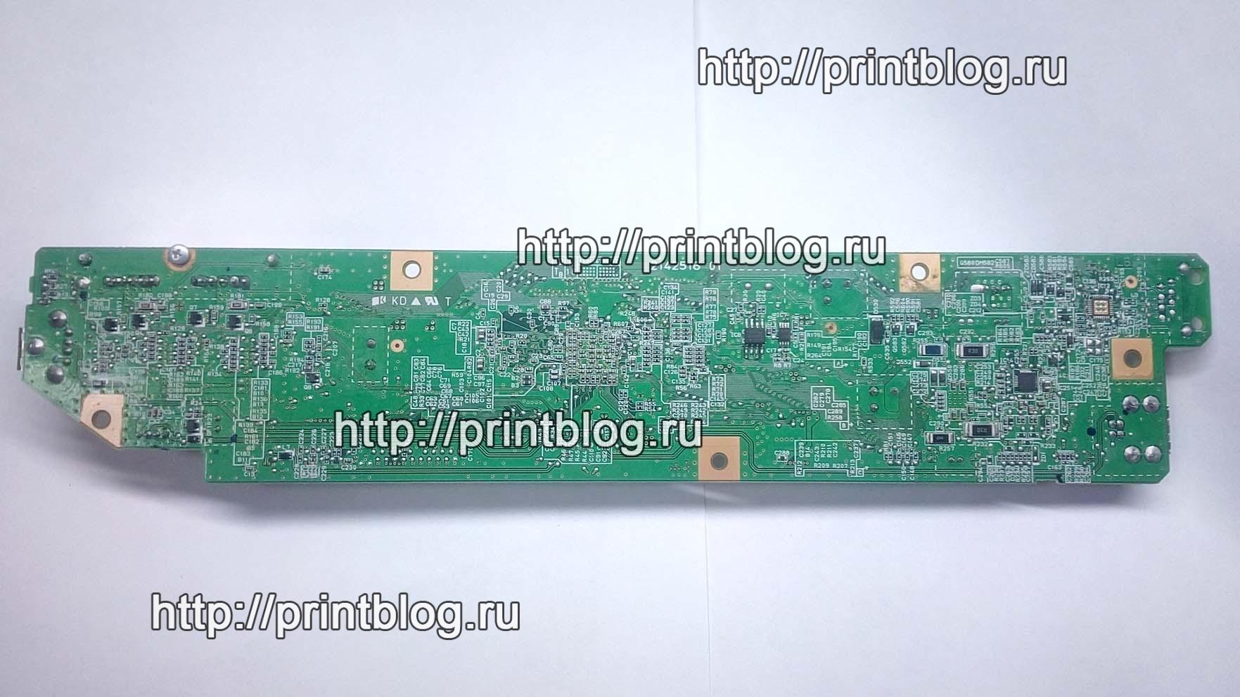 Предохранители F1 на главной плате принтера Epson XP-600, XP605 (2142516)