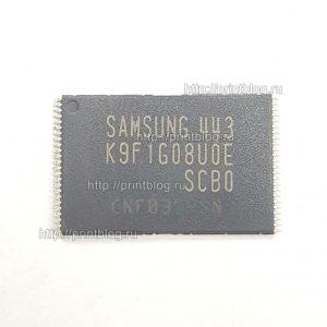 Прошитая оригиналом K9F1G08U0D для Samsung CLX-3305FW (W), C460FW (W)