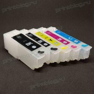 ПЗК, ДЗК для Epson XP-510, XP-520, XP-600, XP-605, XP-610, XP-615, XP-620, XP-625, XP-700, XP-710, XP-800, XP-820