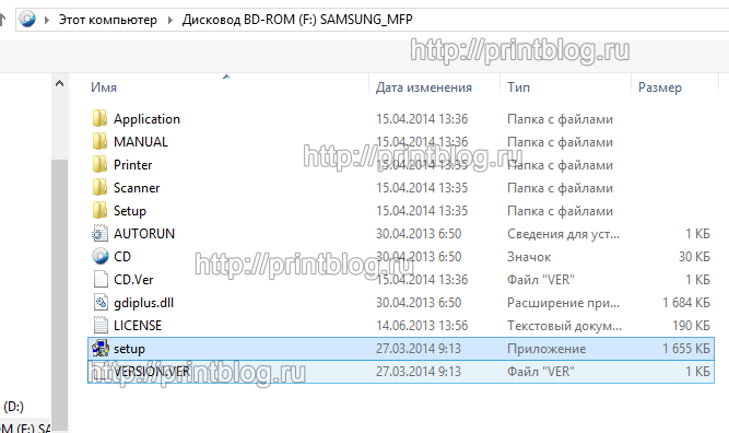 Оригинальный диск с драйверами Samsung Xpress M2070