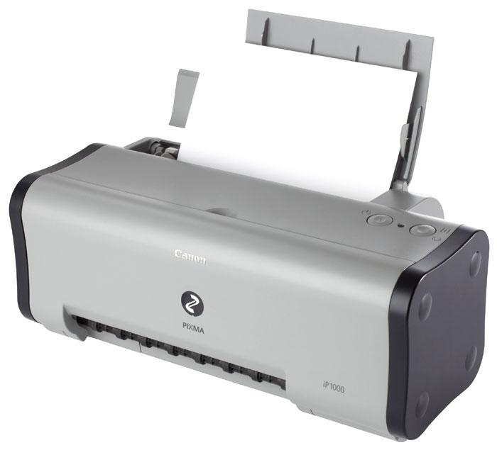 Скачать драйвера для принтера canon ip1000