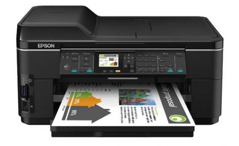 Скачать драйвер принтера Epson WorkForce WF-7515