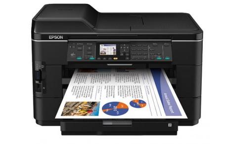 Скачать драйвер принтера Epson WorkForce WF-7525 + инструкция