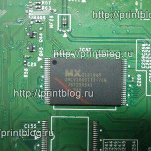 Микросхема MX29LV160AT Ошибка Canon MF5940dn_E744-4000_1