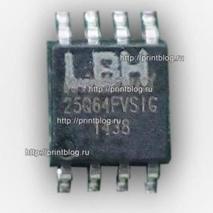 Canon i-SENSYS MF211 дамп памяти 25Q64