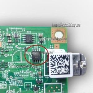 Canon i-SENSYS MF211 дамп памяти 25Q64_1