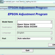 Adjustment program SX230, SX230W _1
