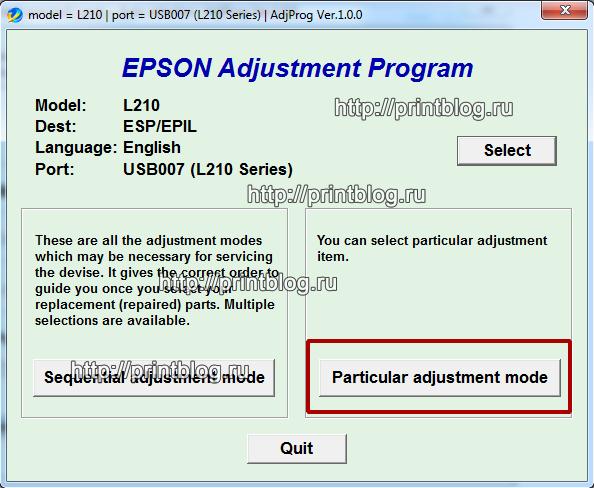Epson L210 требуется техническое обслуживание. Обратитесь в сервисный центр.