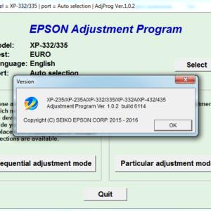 ключ сброса памперса epson s22