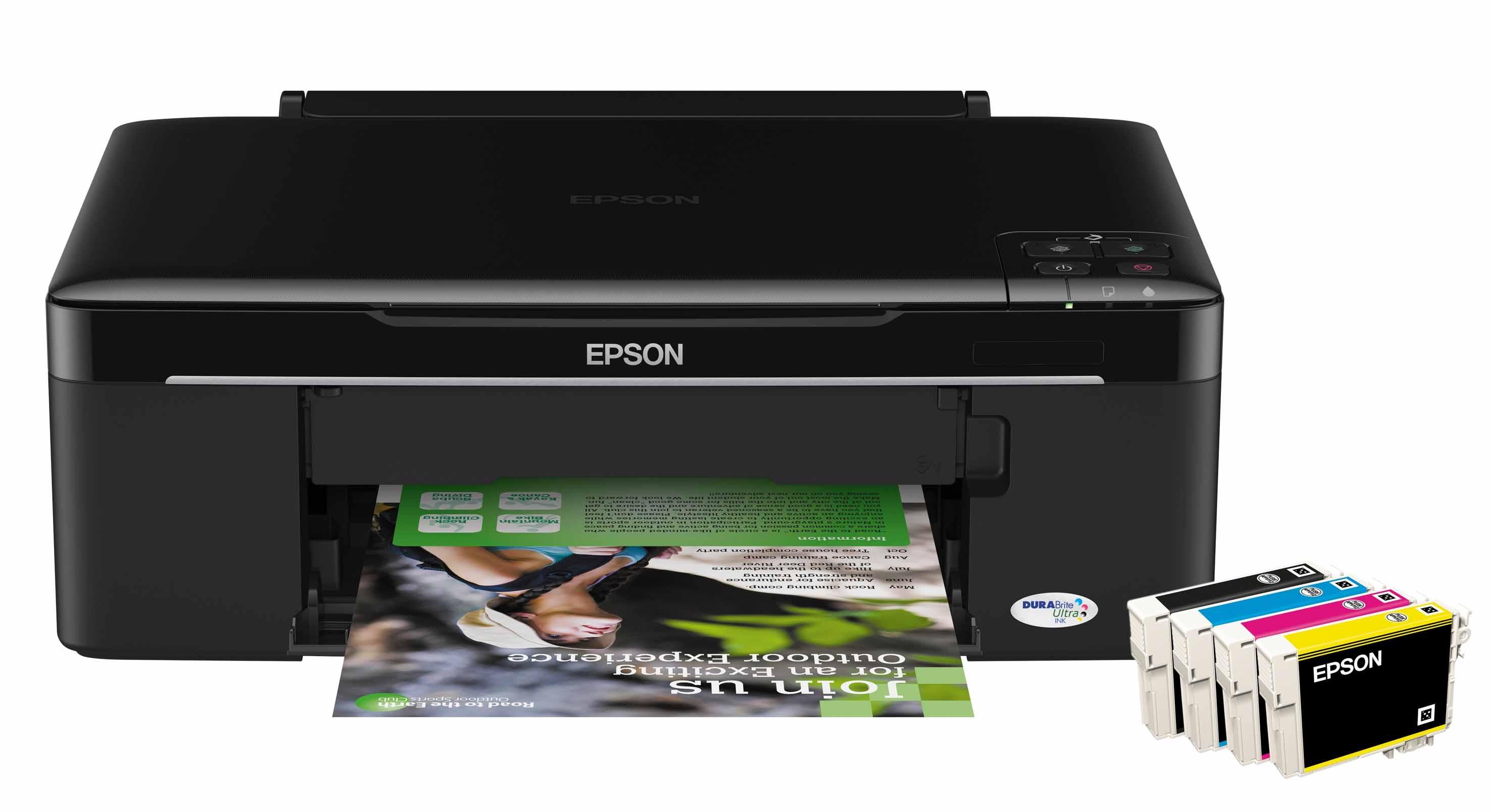 Скачать драйвер Epson SX125, S22
