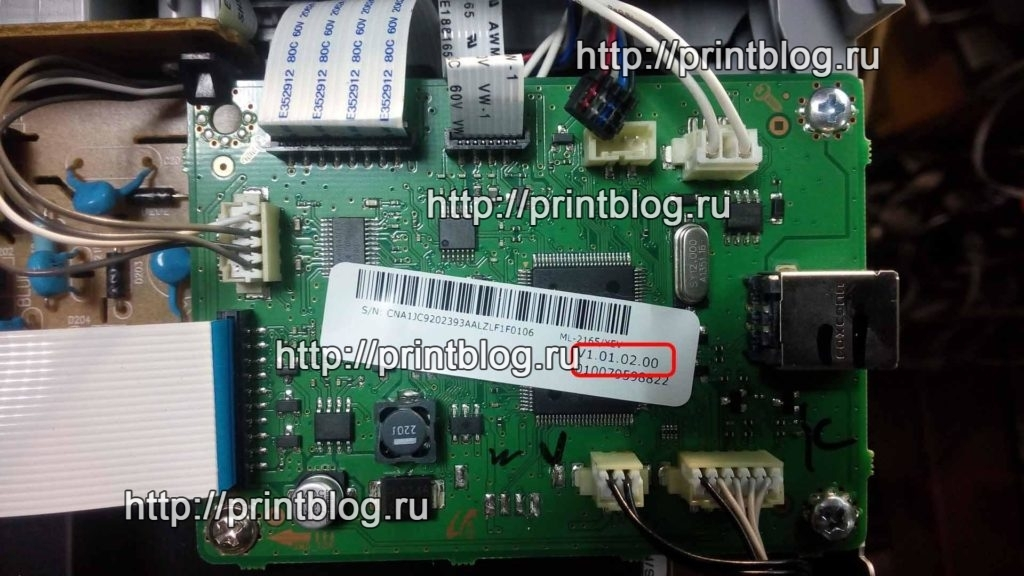 прошивка для принтера samsung ml-2160 v1.01.01.12
