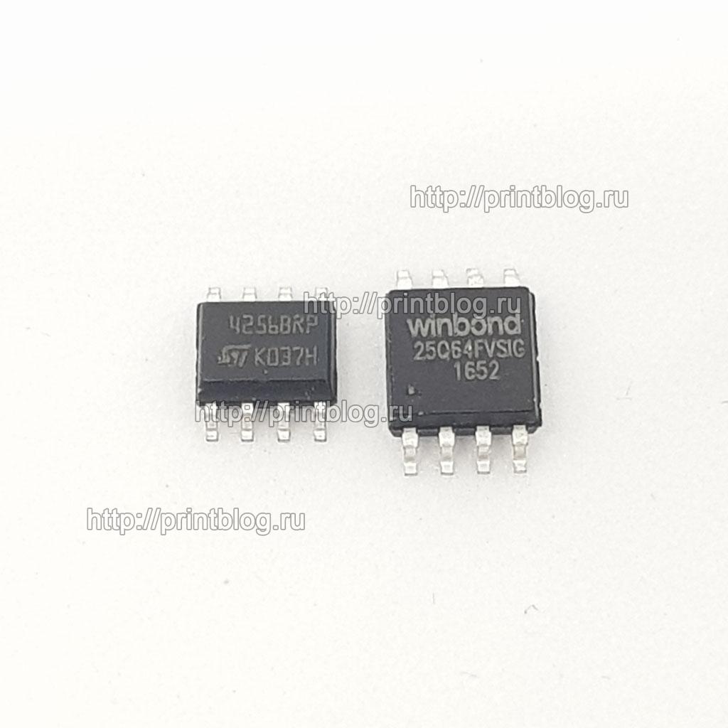 Samsung SCX-3400W и SCX-3405W комплект микросхем, прошитых фикс прошивкой