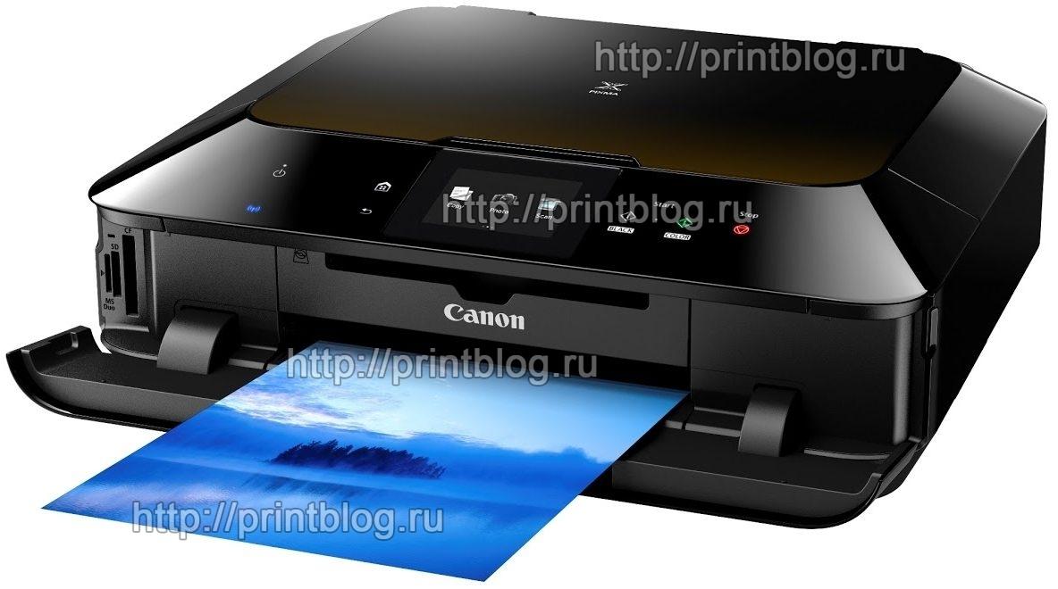 Скачать бесплатно драйвер для принтера Canon PIXMA MG6340