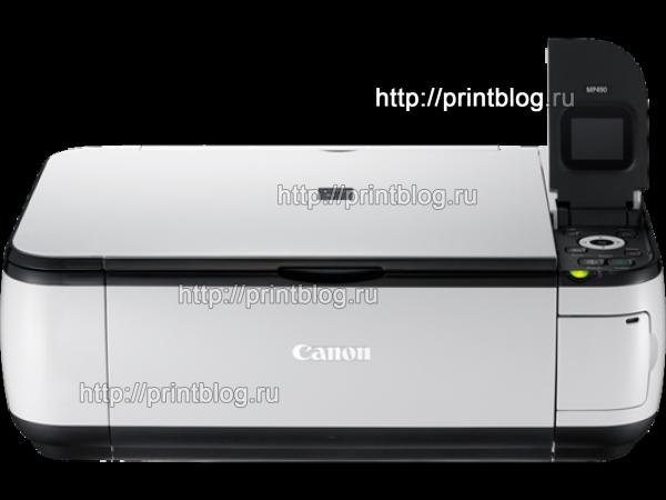 Скачать бесплатно драйвер для принтера Canon PIXMA MP490
