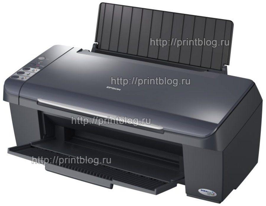 Скачать бесплатно драйвер для принтера Epson Stylus CX4300