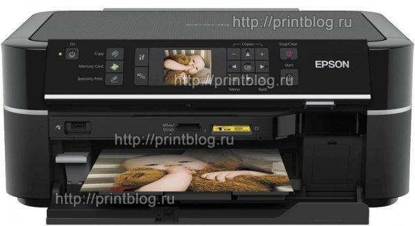 Скачать бесплатно драйвер для принтера Epson Stylus Photo TX650|TX659