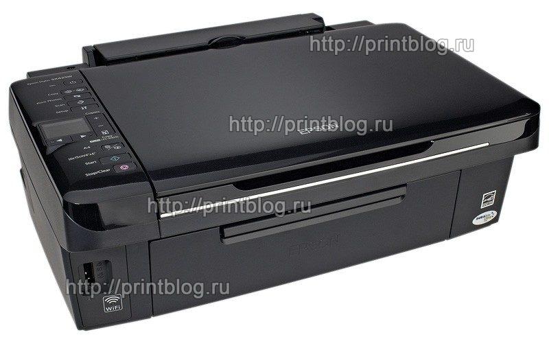 Скачать бесплатно драйвер для принтера Epson Stylus SX420W