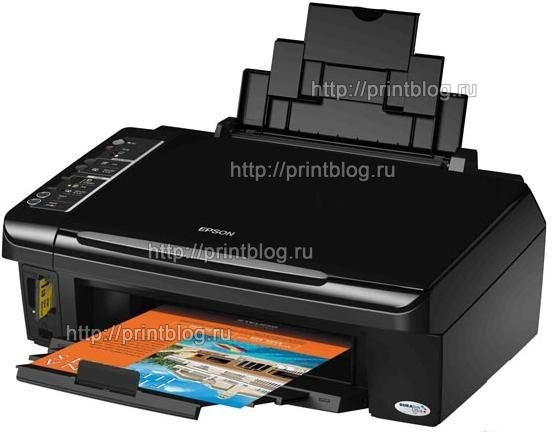Скачать бесплатно драйвер для принтера Epson Stylus TX200