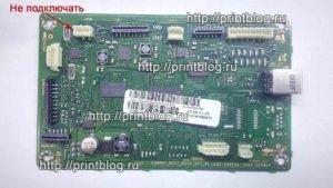 Главная плата Samsung 2070 2070W микросхемы 24С64 и 25Q64 CRUM