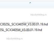 Прошивка для Samsung SCX-3400W SCX-3405W архив с прошивкой