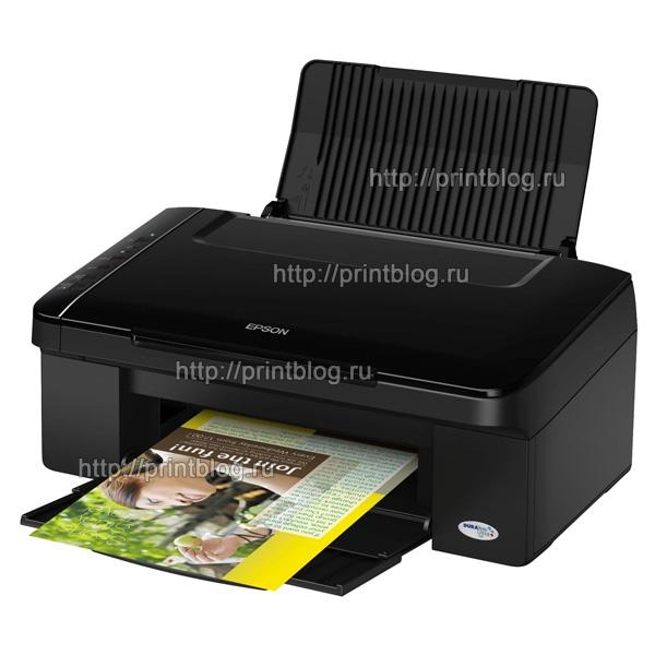 Скачать бесплатно драйвер для принтера Epson Stylus TX117|TX119
