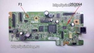 Главная плата Epson WF-2540 25Q064 25Q032 SPI дампы