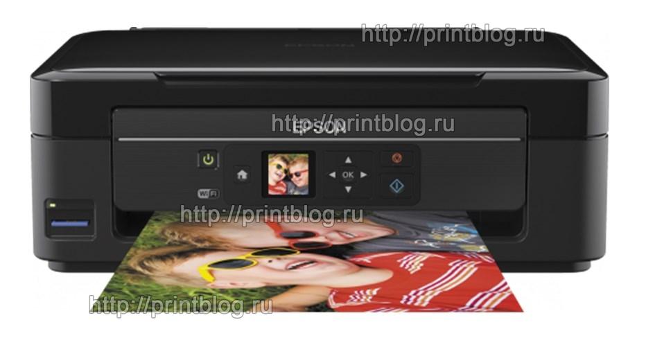 Скачать бесплатно драйвер для принтера Epson Expression Home XP-332