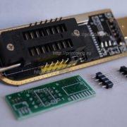 Программатор 25 SPI и 24 EEPROM CH341A Pro USB MinProgrammer_2