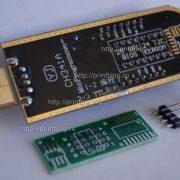 Программатор 25 SPI и 24 EEPROM CH341A Pro USB MinProgrammer_3
