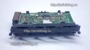 1550817 (E6764) Контактная площадка картриджей в сборе Epson Stylus SX230, SX235W, SX430W, SX435W, SX438W, SX440W, SX445W