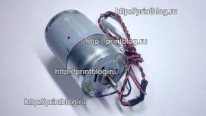 1548481 Двигатель (мотор, MOTOR ASSY,CR) каретки Epson L210, L350, L355, L366, L132, SX230, XP-313