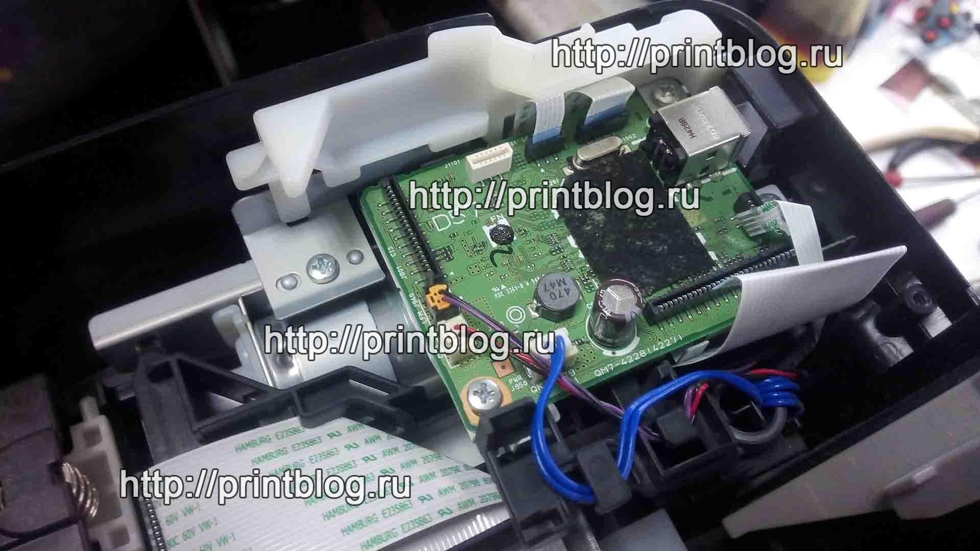 Canon Pixma E464 (E460): Код поддержки 5B00 (5В00), сброс ошибки
